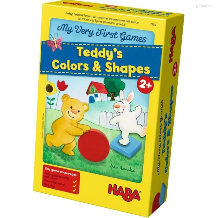 Teddy's Colors & Shapes Game