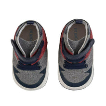 Load image into Gallery viewer, Zachary Navy Soft-Soled Shoes - 9-12 months
