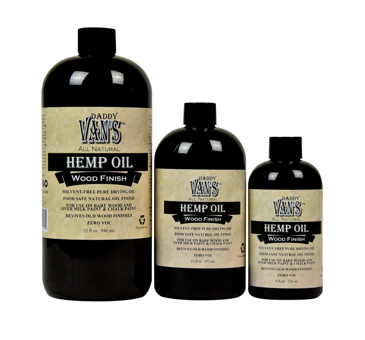 Daddy Van's All Natural   Hemp Oil