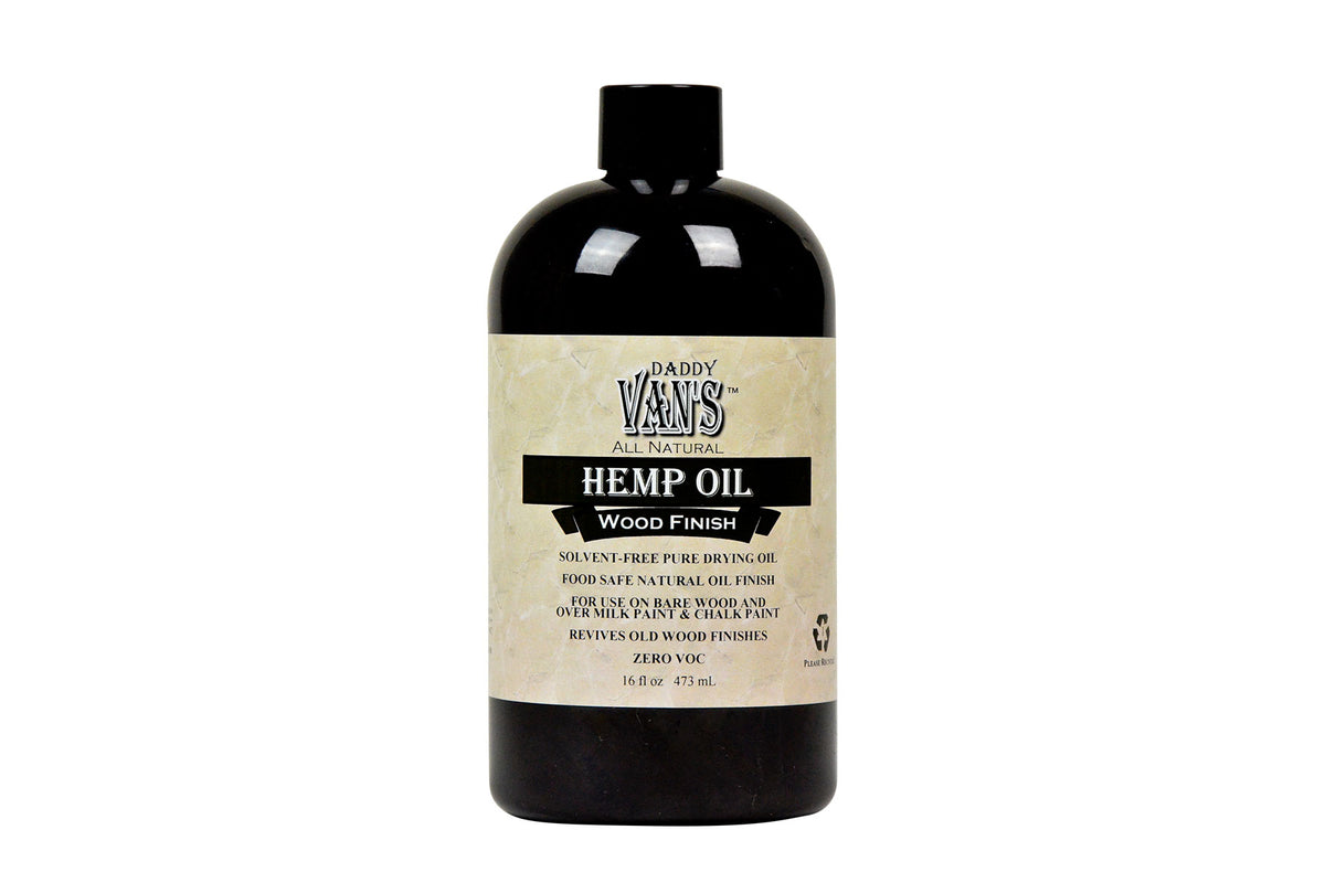 Daddy Van's ® Hemp Oil Wood Finish Restorer