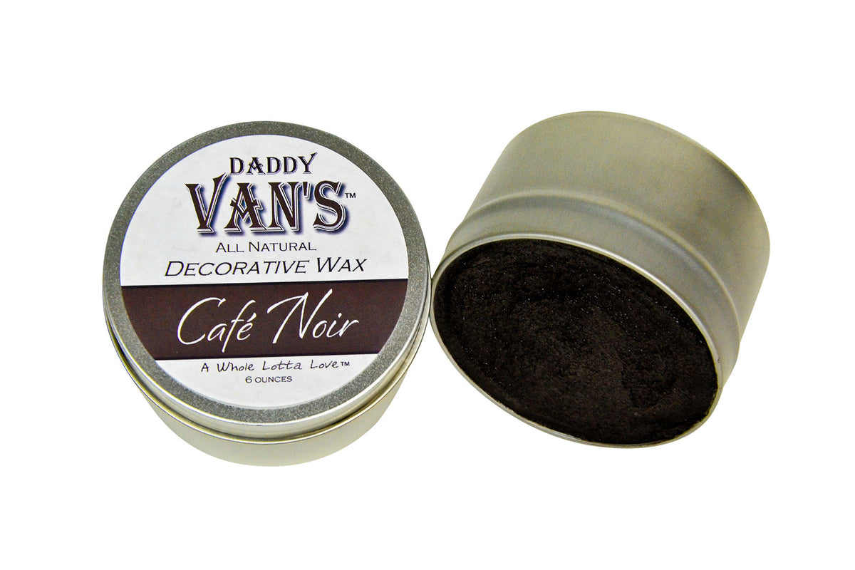 Daddy Van's Café Noir Decorative Accenting Wax for Chalk Paint and Milk Paint