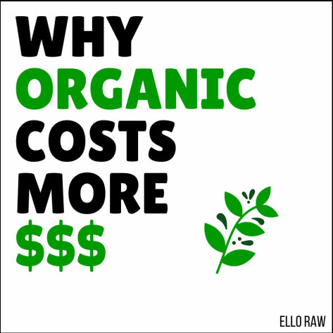 Why Organic costs more