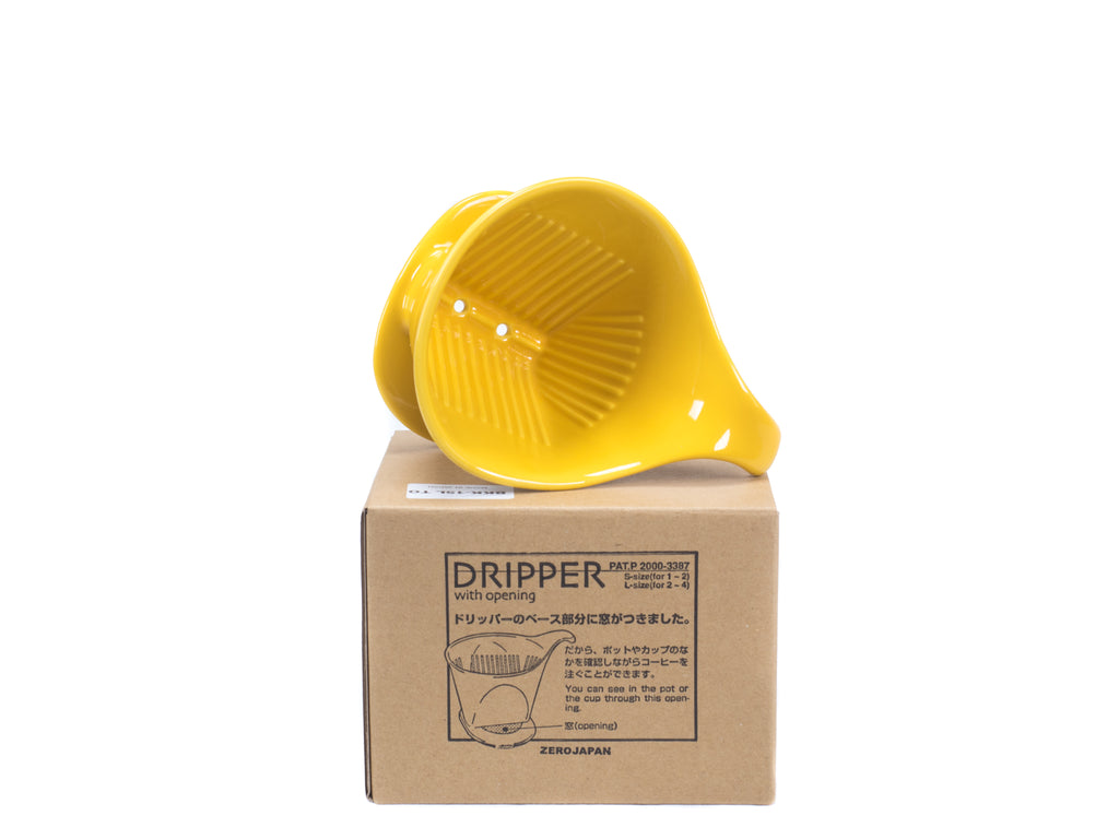 Bee House Dripper - Large - Yellow