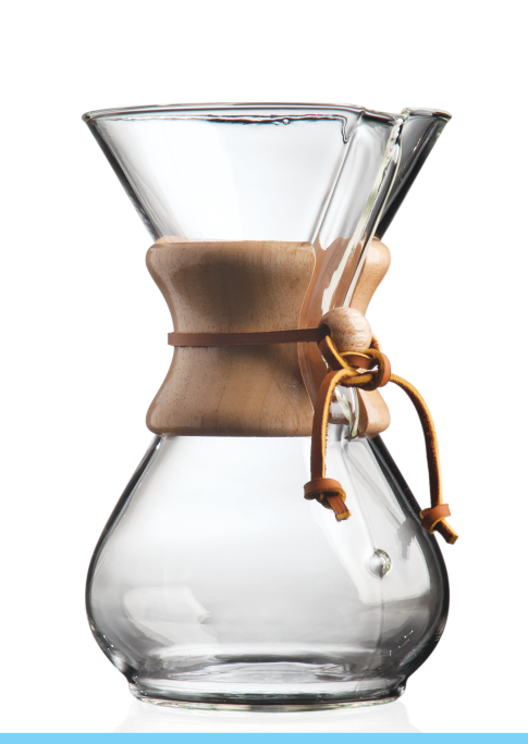 Chemex 6 Cup Wood Collar Mfg