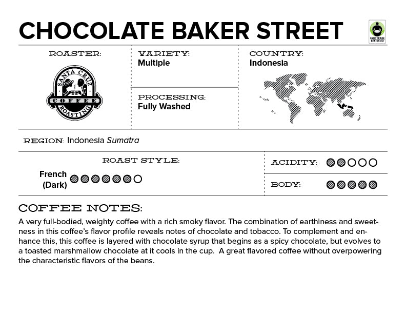 Chocolate Baker Street