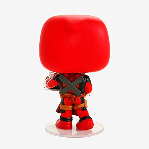 Funko - Holiday - Deadpool with Turkey Figura Coleccionable de Vinilo, Multicolor, 43337