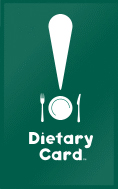 DietaryCard - Translation cards for food allergies and special diets