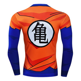 Dragon Ball Z -  Goku Long Sleeve Compression T Shirt - AnimePond