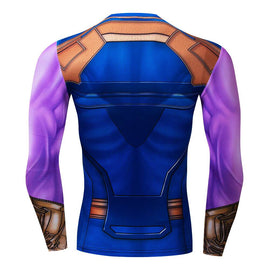 Dragon Ball Z - Long Sleeve Compression Shirt - AnimePond