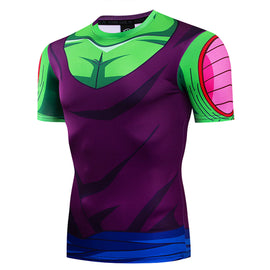 Dragon Ball Z - Piccolo Short Sleeve Compression T Shirt - AnimePond