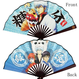 "Gintama Cosplay 8"" Hand Fan - Folding Fan"