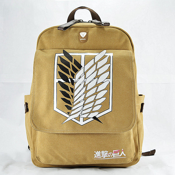 Attack On Titan Backpack - AnimePond