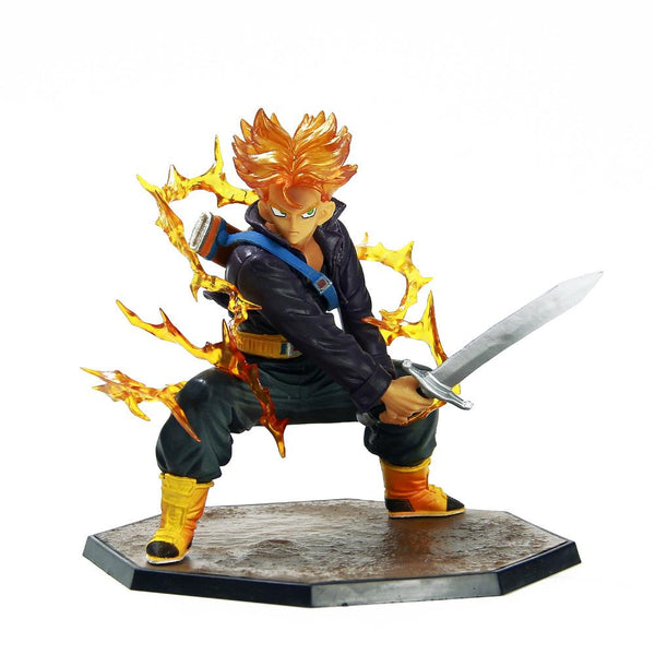 Dragon Ball Z Trunks Super Saiyan PVC Action Figure