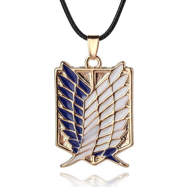 Attack on Titan Wings of Freedom Necklace - AnimePond