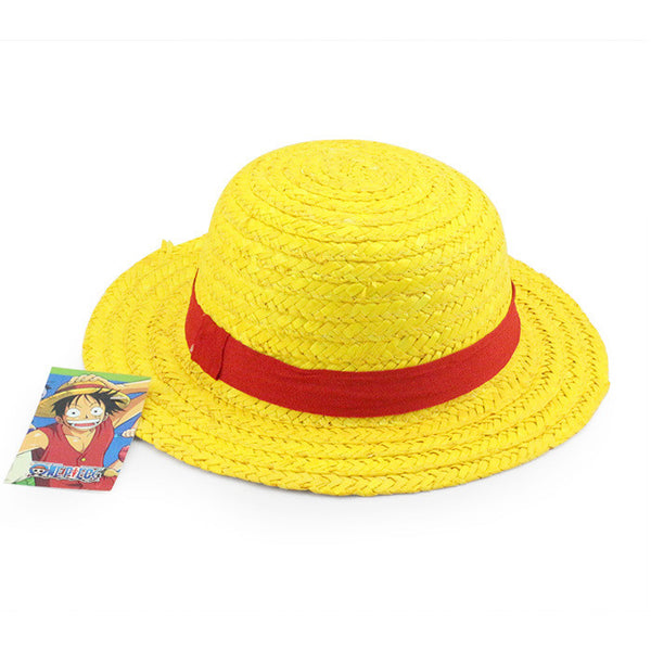 One Piece Cosplay - Luffy Cosplay Sun Straw Hat - AnimePond