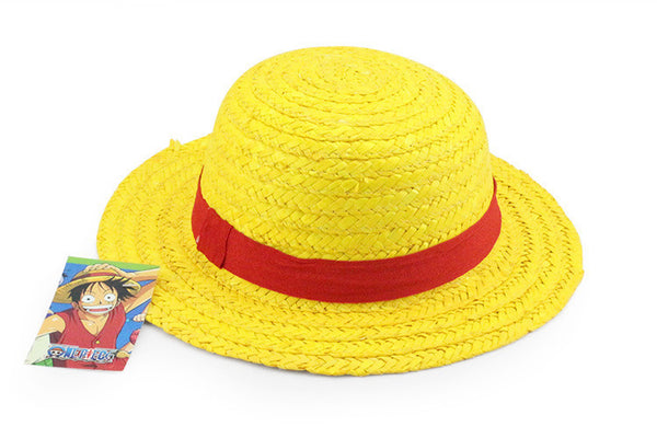 One Piece Cosplay - Luffy Cosplay Sun Straw Hat - AnimePond - 1
