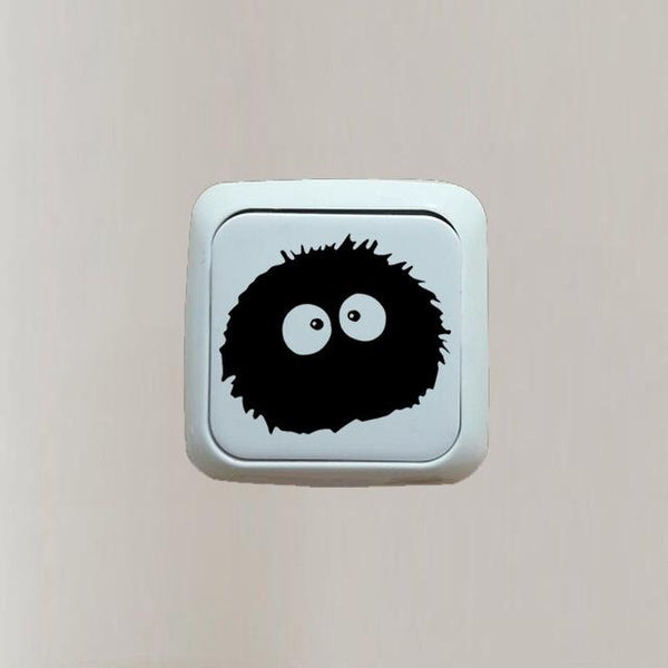 Totoro Switch Sticker - Dust Spirit - AnimePond