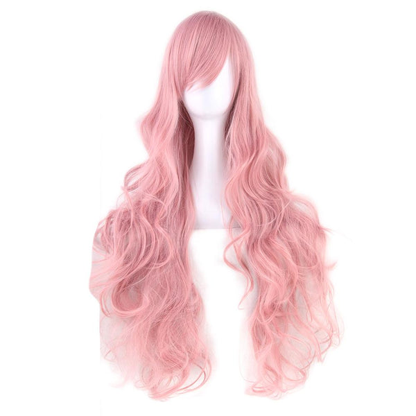 Anime Girl Cosplay Wavy Long Wig