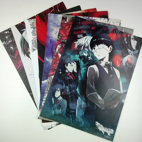 Tokyo Ghoul Posters - Wall decoration - Wall Sticker - AnimePond