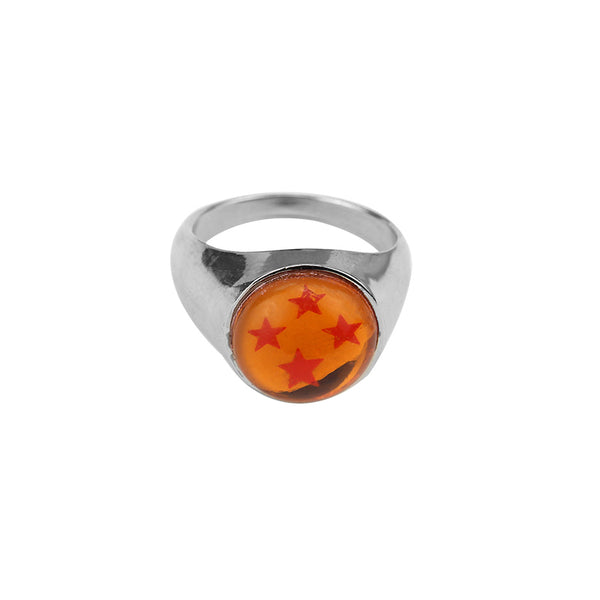 Dragon Ball Z Rings - 4 Star Dragon Balls Ring Cosplay - AnimePond