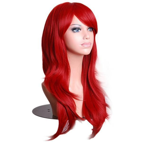 Anime Girl Curly Cosplay Wig 70cm