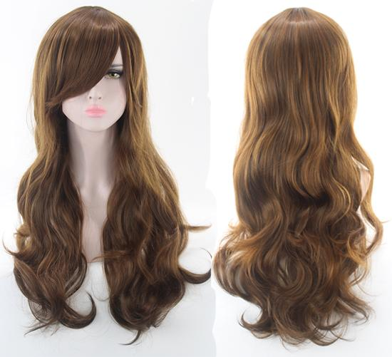 Anime Girl Curly Cosplay Wig 70cm - AnimePond
