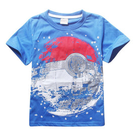 Pokemon Ball T-Shirt For Kids - AnimePond