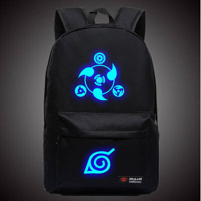 Naruto Backpack Hokage School Travel laptop Bag - AnimePond