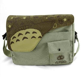 Totoro Messenger Bag - Canvas Shoulder Bag - AnimePond