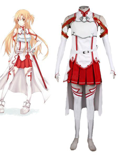 Sword Art Online Asuna Cosplay Costume - AnimePond