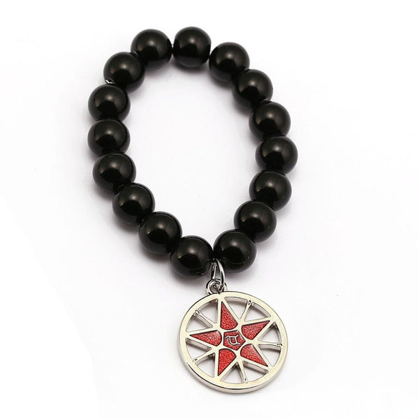 Black Bulter Bracelet - Ciel Demon Eye Star Charm - AnimePond