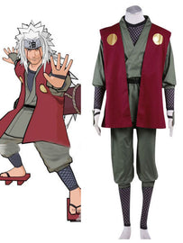 Naruto Cosplay Costume: Jiraiya Cosplay Costume - AnimePond