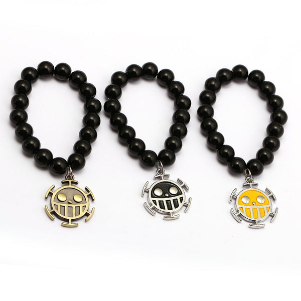 One Piece Bracelet Trafalgar Law Charm - AnimePond
