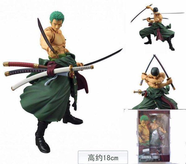 Action Figure One Piece - Roronoa Zoro - AnimePond