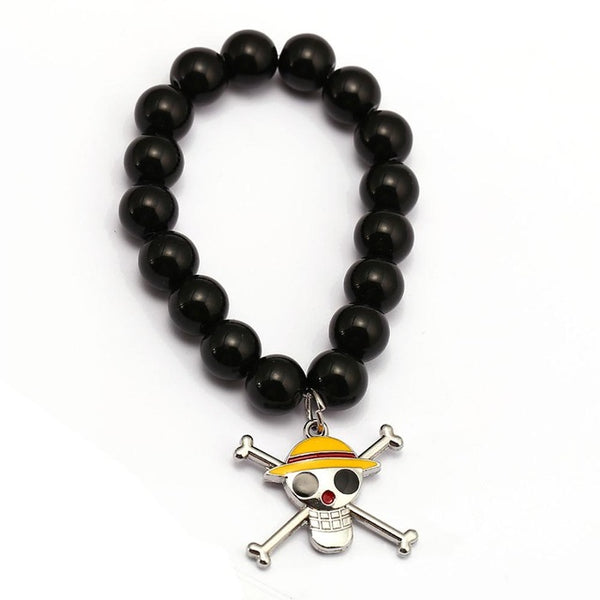 One Piece Bracelet - Luffy Zoro Sanji Charm - AnimePond