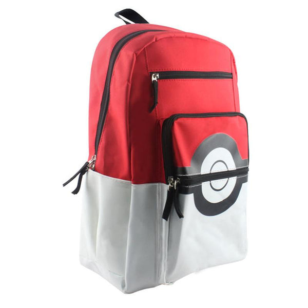 Pokemon Pikachu Poke Ball  Backpack - AnimePond