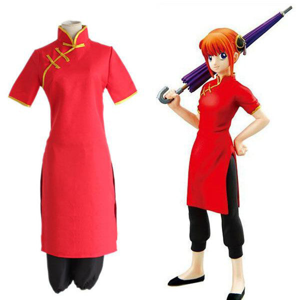 Gintama cosplay - Kagura cosplay coats + pants - AnimePond