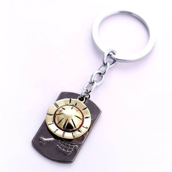 One Piece Key Chain Luffy Strawhat - AnimePond