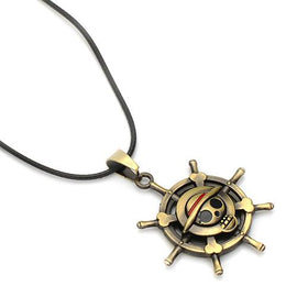 One Piece Necklace Straw Hat Pirates - AnimePond