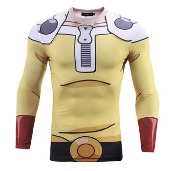 One Punch Man Saitama Long Sleeve Shirt - AnimePond