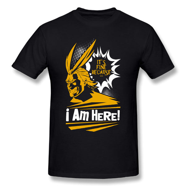 My Hero Academia - All Might T Shirt - AnimePond