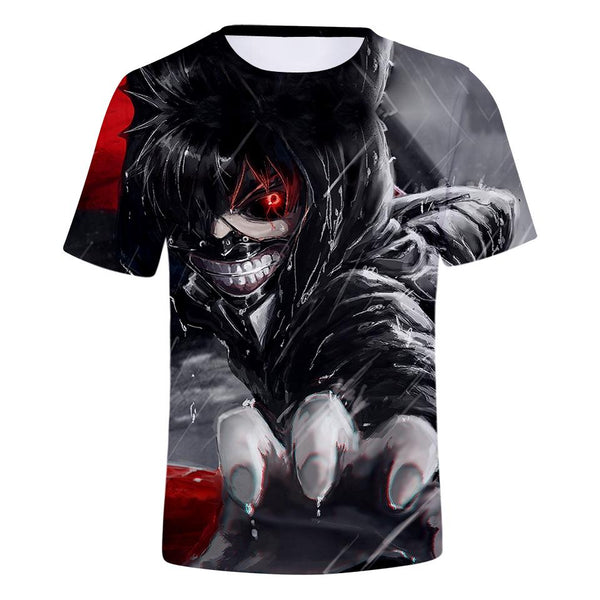 Tokyo Ghoul 3D Print T-Shirt For Men - AnimePond