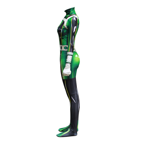 My Hero Academia Asui Tsuyu Women Cosplay Costume - AnimePond
