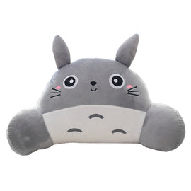 Totoro Pillow Set - Travel Neck Pillow + Office Waist Pillow - AnimePond