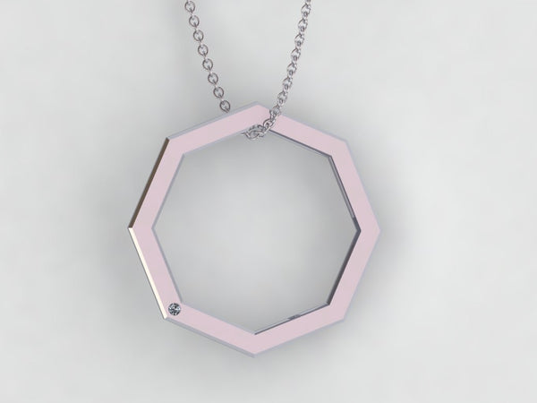 Beacon Octagon Necklace