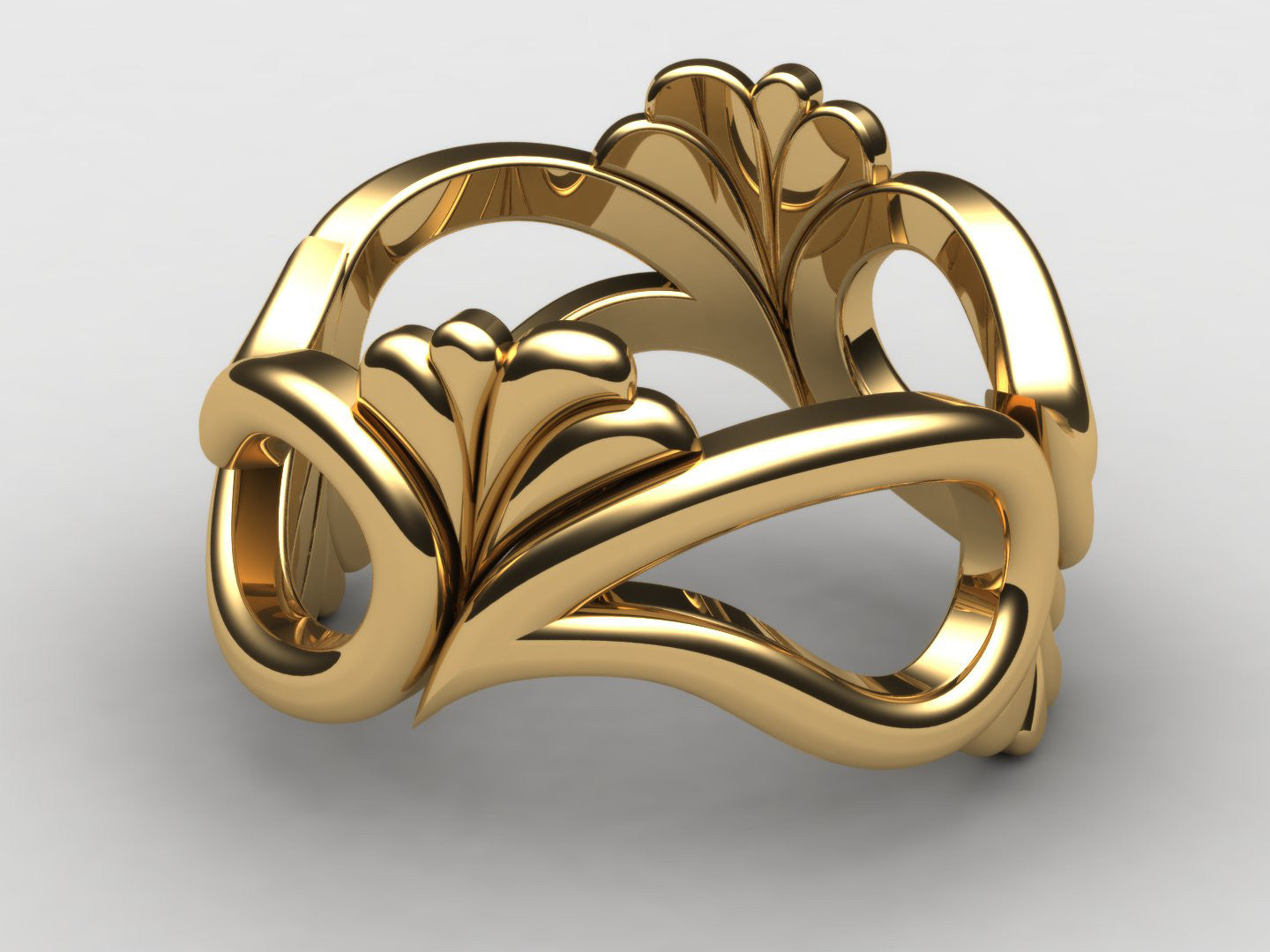 Chickadee Gold Ring