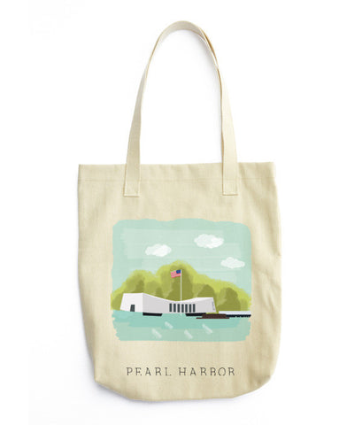 Arizona Memorial Tote Bag - www.hitide808.com