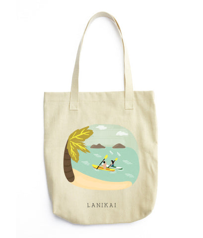 Lanikai, Hawaii Tote Bag - www.hitide808.com