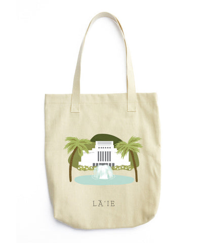 Laie Temple Tote Bag - www.hitide808.com