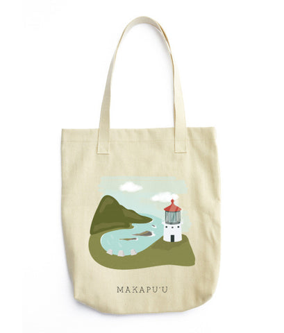 Makapu'u Lighthouse Tote Bag - www.hitide808.com
